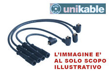 KIT CAVI CANDELA FIAT PUNTO 60 1.2ie SPi 93-00 UNIKABLE - 0506.57