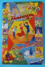 Teenage Scrapbook 1960's Actors Popstars 36 Pages Of History in Great Condition