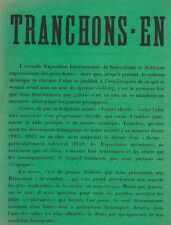 RARE EO 4 TRACTS SURRÉALISTES EXPOSITION INTERNATIONALE DU SURRÉALISME 1965