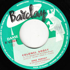 "7"" 45 TOURS JUKEBOX FRANCE EDDIE BARCLAY ""Colonel Bogey +1"" 1958"