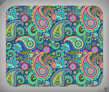 Pattern // Paisley, Pink, Teal, Green, Cute, Colorful // Mouse Pad [NEW!] 3