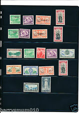 Niue New Zealand Western Samoa mint collection on stock book page