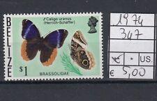 Belize 1974 Farfalla 347 MNH