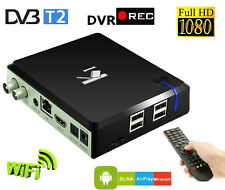 ^Lt Android 4.4 Mini PC Smart TV Ricevitore DVB T2 DVR Recorder 3D Miracast DLNA