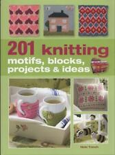 201 Knitting Blocks by Nicki Trench (2006, Paperback, New Edition) DHL EXPRESS