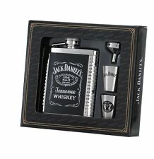 Jack Daniel's 6 oz. Flask 2 Shots and Funnel Gift Set