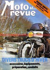 MOTO REVUE 2399 PARIS DAKAR GUZZI KRAJKA MARTIN YAMAHA DUTRONC 1979