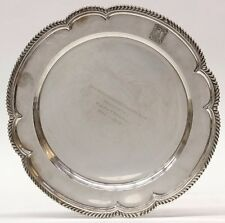 Antique Gorham, Black, Starr & Frost Sterling Silver Charger Tray 32.29oz