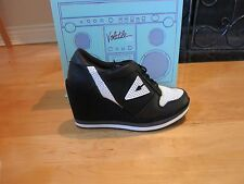 Volatile Wild Foxy Women's Wedge Platform Sneakers Shoes Leather SIZE 6~NEW