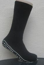 1 Paar Herren Stoppersocken Socken mit ABS Sohle Noppensohle grau 39 bis 42