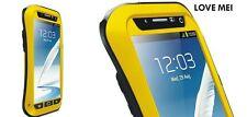 Love Mei Metallgehäuse Samsung Galaxy Note 2 Wasserdicht Stabiles Schutz gelb