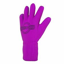 FUKUOKU FIVE FINGER MASSAGE GLOVE Pink Left hand Waterproof Size Small