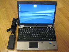 HP 8440p LAPTOP WINDOWS 7 PRO CORE-i5 4GB 250GB CDRW/DVD WIFI WEBCAM NOTEBOOK PC