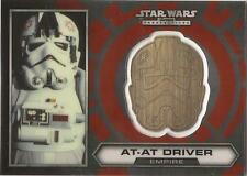 "Star Wars Chrome Perspectives - #23 of 30 Gold Helmet Medallion ""AT-AT Driver"""