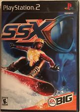 SSX (Sony PlayStation 2 2000) Black Label Complete Snowboarding Contact Racing