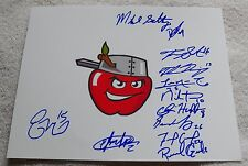 2015 Fort Wayne Tincaps Team Signed Photo Michael Gettys San Diego Padres Auto