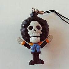 1 MINI Action Figure Humming Brook ONE PIECE keychain Phone STRAP Anime Bandai