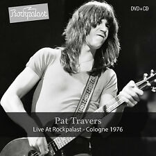 PAT TRAVERS New Sealed 2017 UNRELEASED LIVE 1976 CONCERT DVD & CD SET