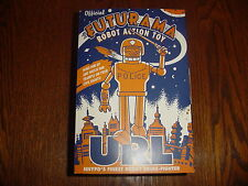 FUTURAMA 2001 URL POLICE WIND UP ROBOT TIN TOY ROCKET USA MIB