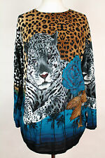 NEW WOMEN  LONG TUNIC  size 16/18  TOP  LONG SLEEVE  BLOUSE  LADIES  b 2964
