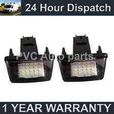 2X FOR PEUGEOT 206 207 306 307 308 406 407 5008 PARTNER LED NUMBER PLATE LAMP