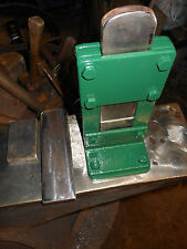 BLACKSMITH GUILLOTINE TOOL VERY HEAVY DUTY WITH 2 DIE SETS -BEST BUY ON THE NET