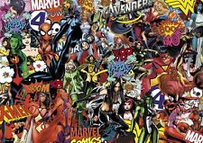 GIRLY MARVEL STICKERBOMB SHEET- (X1-A4 SIZE)  FREE P&P!! (SPIDERWOMAN/SUPERHERO)