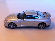 NISSAN GT-R 2008 MET SILVER IXO BLISTER PACK NEW 1:43 Scale Part Work