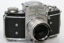 Exakta VX 35mm Camera 748048 With Zeiss Tessar 50mm f2.8 Lens