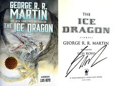 George R.R. Martin SIGNED Ice Dragon 1st/1st NEW BEAUTIFUL!!