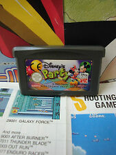 Game Boy Advance GBA:Disney's Party [TOP & 1ERE EDITION] SEUL - Fr