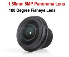 HD 5MP 1.56mm Fish eyes Lens 180 Degree for CCTV/IP/Car cameras