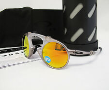 Brand New OAKLEY MADMAN Plasma / Fire Iridium Polarized Sunglasses OO6019-07