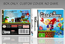 "NINTENDO DS : GIANA SISTERS. UNOFFICIAL COVER. ORIGINAL BOX. ""NO GAME"". ENGLISH."