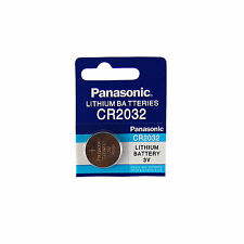 NEW 1 Pcs PANASONIC CR2032 CR 2032 3V Lithium Batteries