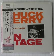 CHUCK BERRY - Chuck Berry On Stage + 11 JAPAN SHM MINI LP CD NEU! UICY-94630