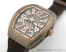Franck Muller Vanguard  Titanium and 18k Rose Gold VV45 SC DT TT BR.5N