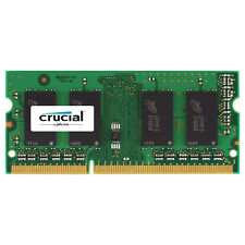 Crucial MacBook Pro 2011 4GB DDR3 1333 PC3-10600 SODIMM Memory Ram CT4G3S1339M
