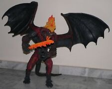 "Lord of the Rings LOTR 25"" NECA Electronic Balrog PVC Lights Sound Statue MIB"