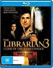Librarian 3 - Curse of the Judas Chalice - Blu Ray - Free Postage