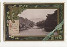The Pride Of Our Sire Land The Eden Of Ireland Embossed Postcard 319a