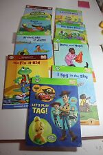 lot of 9 Leapfrog Tag Vowel Review books Disney, Toy Story, Rose and Hope