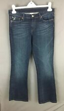 Women's Lucky Brand Jeans Sheeva Sweet N Low 30 x 29 Dark Embroidered Stretch