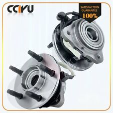 Pair of 2 New Front For Ford Ranger Mazda Mercury Wheel Hub & Bearing Assembly