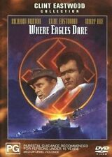 WHERE EAGLES DARE (dvd) Brand new and sealed FREE POST