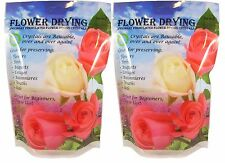 2 Pack Flower Drying Silica Gel - Flower Preservative!