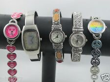 o16:Lot 5x New Vivani SO Geneva Women's Analog Watches-Low Bid!