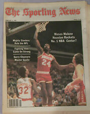 FEB 1979 SPORTING NEWS NO LABEL MOSES MALONE HOUSTON ROCKETS