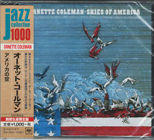 ORNETTE COLEMAN-SKIES OF AMERICA-JAPAN CD Ltd/Ed B63