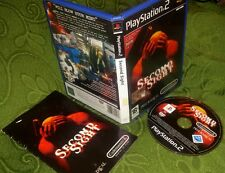 SECOND SIGHT - PS2 PLAYSTATION 2 RARO PAL PRIMA STAMPA